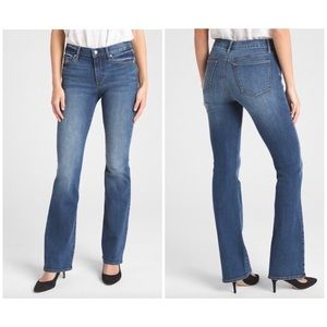 Gap Mid Rise Perfect Boot Mid Wash Jeans 27 Tall